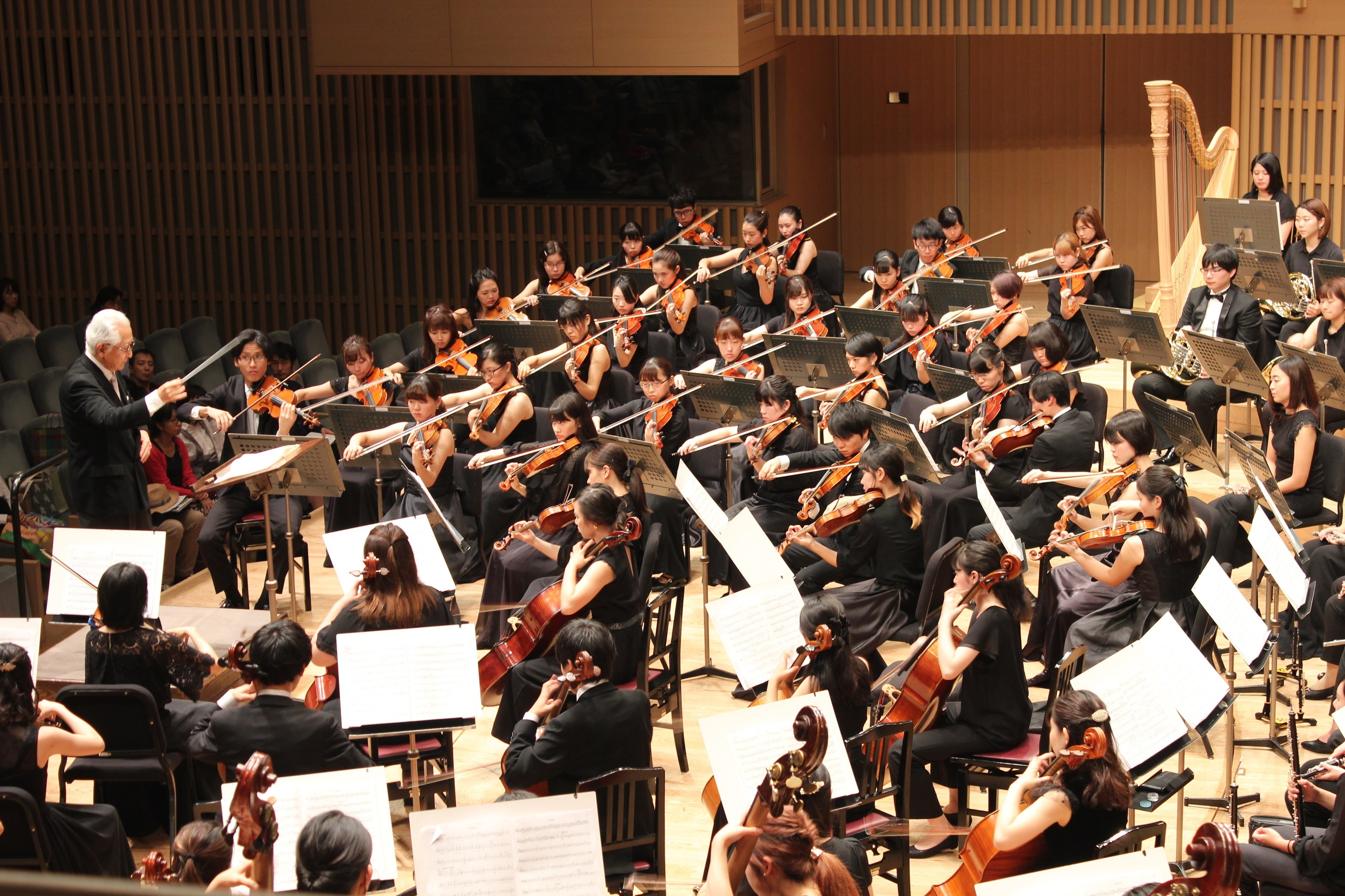 The 9th Orchestral Festival for Music Colleges and Universities of Performing Arts in Kansai in Kyoto Concert Hall