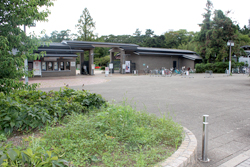 Turn left again. Then you will find the Kyoto Botanical Garden.